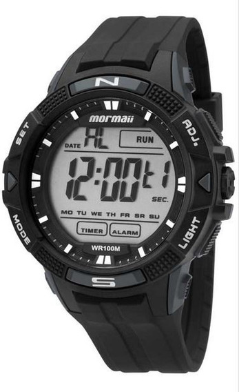 Relógio Mormaii Mo5001/8c Mo5001 8c Preto