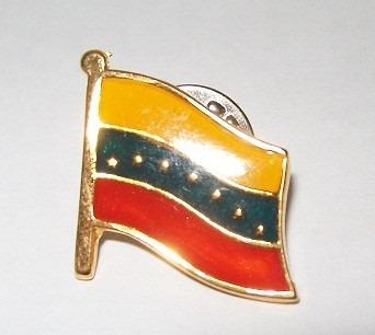 Prendedor De Bandera De Venezuela  / 6 Dolares