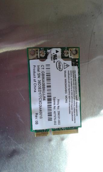 Placa De Rede Intel Hp Dv2000