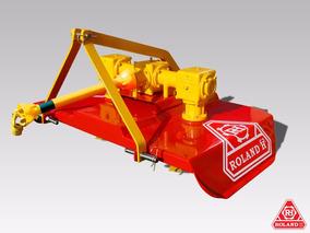 Cortadora De Cesped Profesional Para Tractor Roland H130 Cm