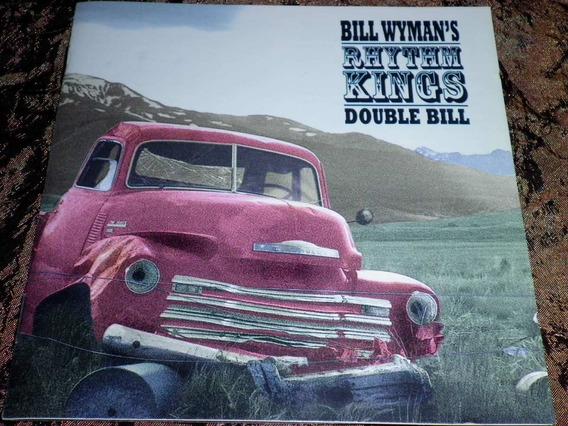 Bill Wyman´s Rhythm Kings Double Bill 2 Cd´s Stones Excelent