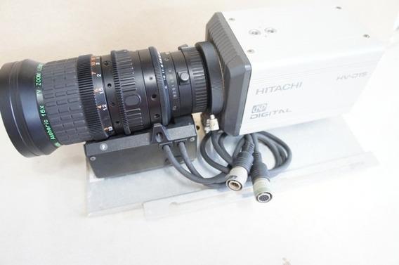 Câmera Digital Hitachi Hv-d15 Com Lente Fujinon S16x6.7bmd