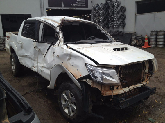 Sucata Hilux 3.0 Sr 4x4 Aut. Diesel 14/15 Bassani Auto Peças