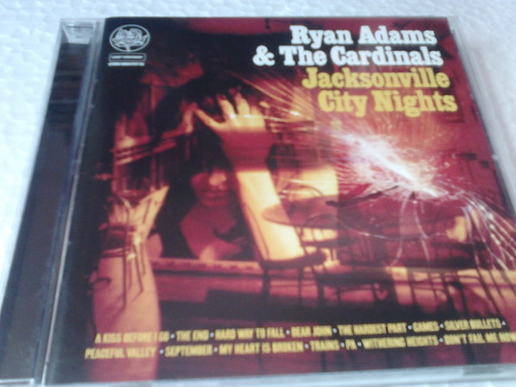 Cd Ryan Adams & The Cardinals Jacksonville 2005 Importado