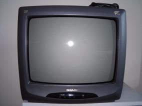 Sh - Tv Sharp 14 Pol. Cores ( Não Envio, Só Retirada Em Sp )