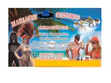Mariachi Costeño,fiesta,musica,bodas 15 Años,aniversarios