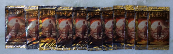 Lote 11 Pacotes Figurinhas O Hobbit
