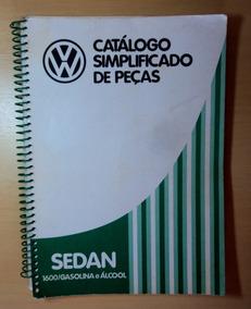 Catálogo De Peças Vw Fusca 1600