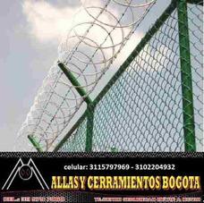 Concertina De Seguridad, En Bogota Venta - Instalacion