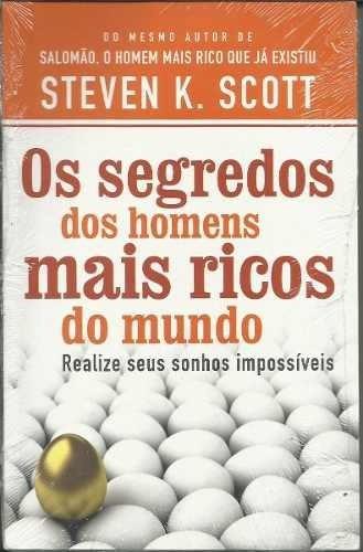Livro - Os Segredos Dos Homens Mais Ricos Do Mundo