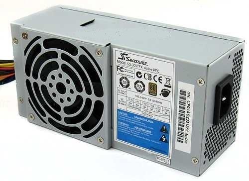 Fonte Seasonic Mini Atx Ss-300tfx 300w Reais Hp Dell Itautec