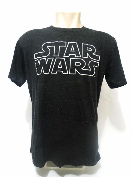 Camisa Star Wars Preta G Original
