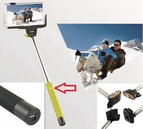 Bastão Pau De Selfie Monopé Bluetooth Câmera Fot/celulares