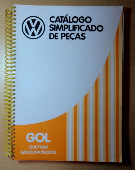 Catálogo De Peças Vw Gol 1300 1600
