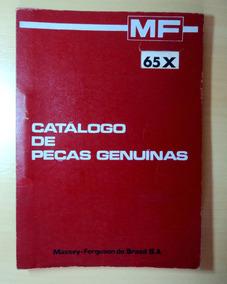 Catálogo De Peças Genuínas Massey Ferguson 65 X