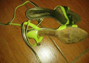 Sandália Verde Nº 36 - Cód Cl209