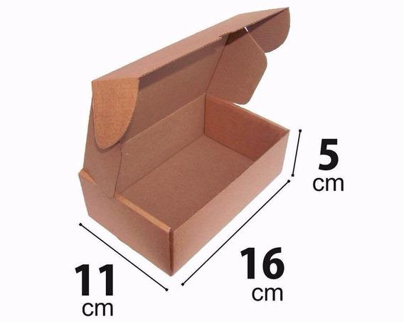 Caixa Papelão Montavel Correio Sedex 16 X 11 X 5 Cm - 50 Pçs