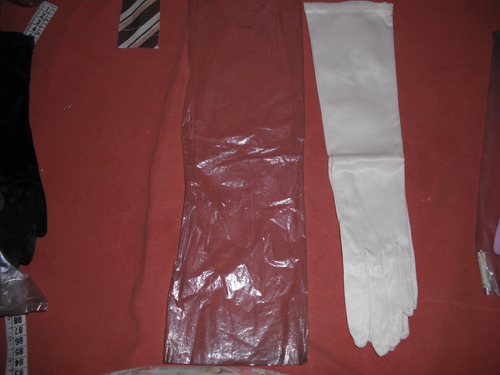 Finos Guantes/ Alemanes  Rayony Nylon T 7 1/2 L37  Caba