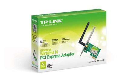 Adaptador Tplink Pci Exp. Wless 300mbps 2 Antena Tl-wn881nd