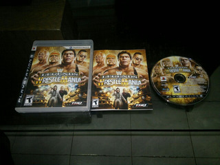 Wwe Legends Of Wrestlemania Completo Para Play Station 3
