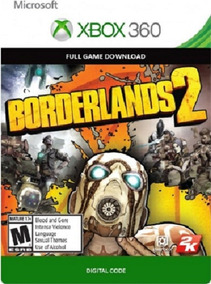 Borderlands 2 Xbox 360 - Midia Digital Codigo 25 Digitos