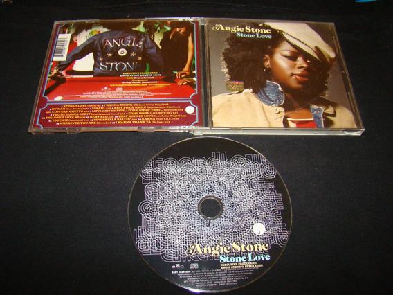 Angie Stone Stone Love 2004 Argentina Cd Nm+