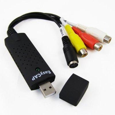 Imagen 1 de 3 de Capturadora De Video Y Audio Easycap Usb 2.0 Para Pc Rca