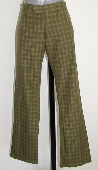 Rvca Pantalon A Cuadros Talla 30/32