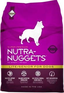Nutranuggets Perros Lite/senior 15kg