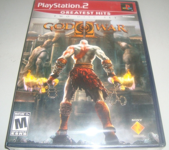 God Of War 2 Play 2 L A C R A D O!! Rigorosamente Sem Uso!!