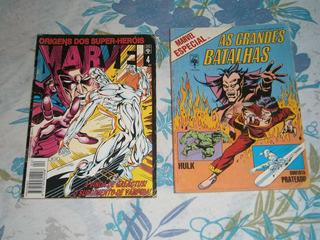 Origem Dos Super-herois E Grandes Batalhas
