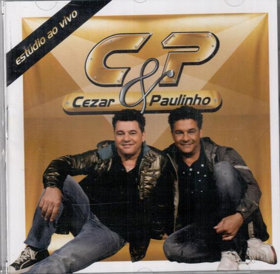 Cezar E Paulinho Cd Sertanejo Original Autografado