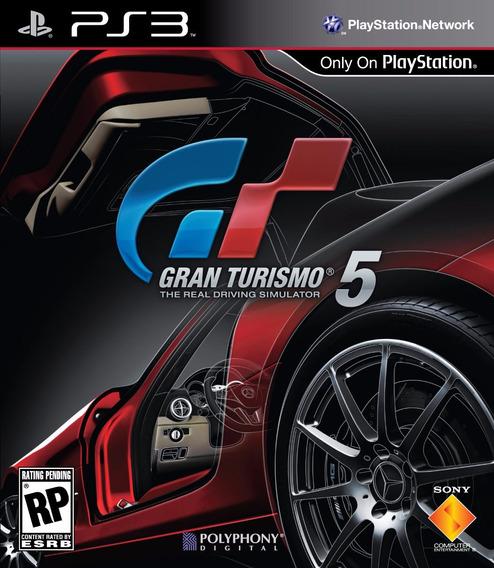 Jogo Ps3 Gran Turismo 5 Novo Lacrado E Original