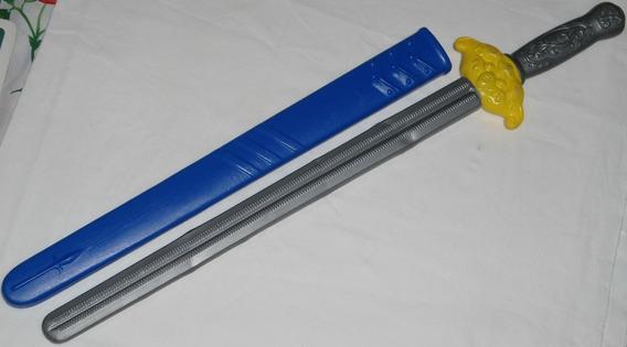 Espada De Plástico Estilo Kung-fu Chinês 64cm Com Bainha