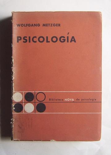 Psicología / Wolfgang Metzger