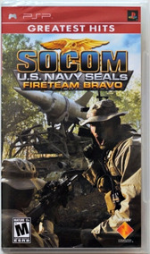 Socom U.s. Navy Seaals Fireteam Bravo - Psp Lacrado