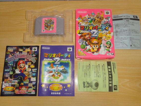 Linda Raro Mario Party 2 Nintendo 64 Japones Japan