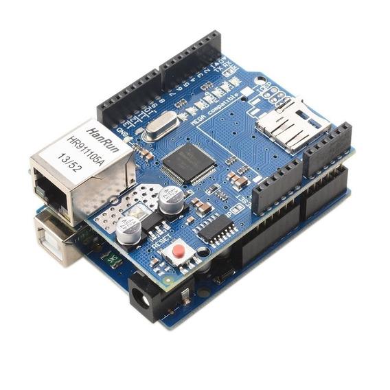 Kit Uno R3 Smd + Ethernet Shield W5100