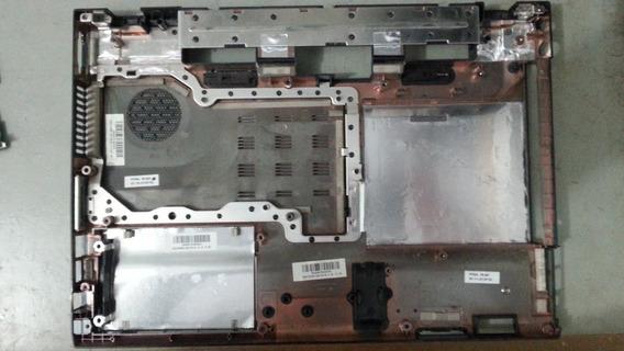 Notebook Gigabyte W466u -caraça Inferior