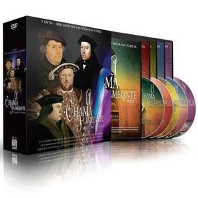 A Chama Flamejante Dvd 1000 Anos História Da Igreja - Box