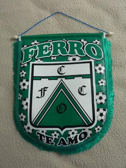 Banderin Del Club Ferro Carril Oeste