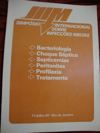 Livro Simpósio Internacional Sobre Infecções Mistas