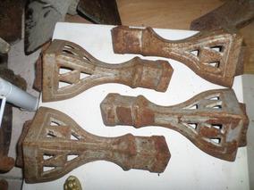 Antigos Pés Para Fogão De Ferro