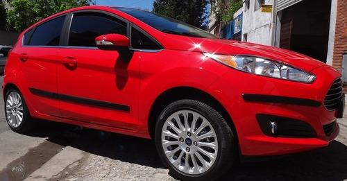Ford Fiesta Kinetic 5p Protectores Paragolpes + Baguetas Pts Walrod306