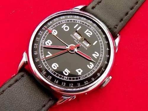 Reloj Marca Cuervo Y Sobrinos Modelo Habana (ref 1257)