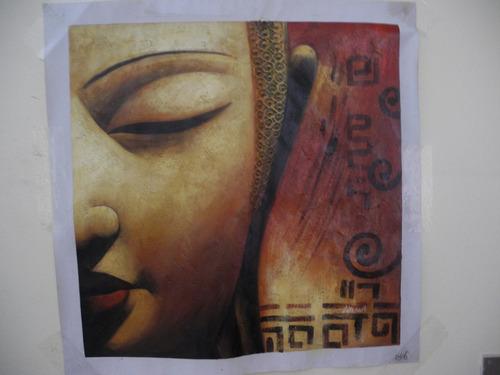 Oleo Sobre Tela De Buda