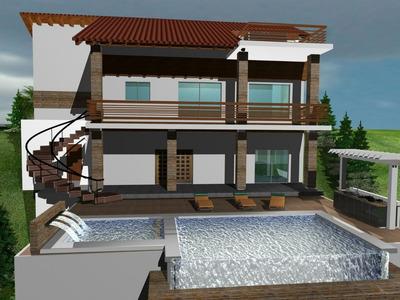 Villa 6hab. 6.5bañ 4pq, Piscina, 2 Jacuzzi, Bbq, 3 Terrazas,