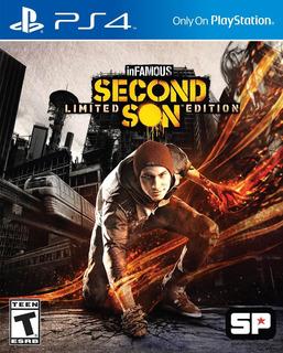..:: Infamous Second Son Ps4 Playstation 4 Nuevo ::.. En Bsg