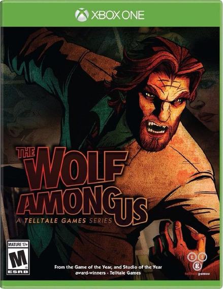 The Wolf Among Us Xbox One Original Lacrado Mídia Física