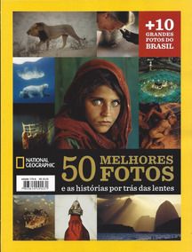 Revista National Geographic Esp. 50 Melhores Fotos Lacrada